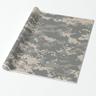 Papel de embalaje del camuflaje del ACU Digital Papel De Regalo
