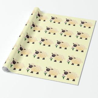 Papel de embalaje del cordero papel de regalo