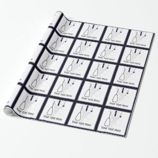 Papel de embalaje del doctor Custom de la capa del