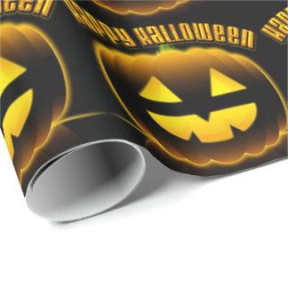 Papel de embalaje del feliz Halloween 3 Papel De Regalo