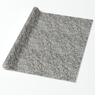 Papel de embalaje del guijarro de la roca