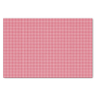 Papel de embalaje del Guinga-Baya-Rojo-Tejido Papel De Seda Pequeño