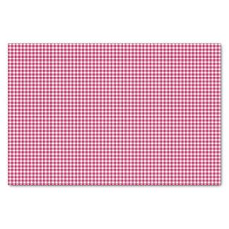 Papel de embalaje del Guinga-Oscuro-Rosado-Tejido Papel De Seda Pequeño