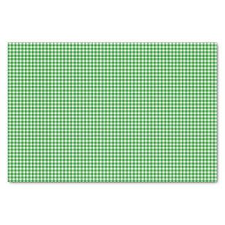 Papel de embalaje del Guinga-Verde-Tejido Papel De Seda Pequeño