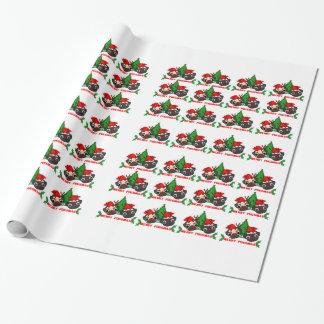 Papel de embalaje del navidad del barro amasado papel de regalo