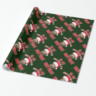 Papel de embalaje del navidad del camello del día papel de regalo
