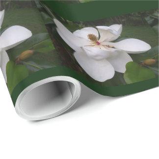 Papel de embalaje - flor II de la magnolia