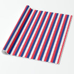 Papel de embalaje francés de la bandera