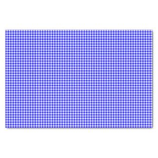 Papel de embalaje Guinga-Brillante del Azul-Tejido Papel De Seda Pequeño