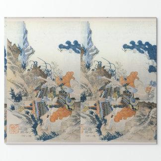 Papel de embalaje japonés papel de regalo
