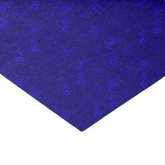 PAPEL de EMBALAJE metálico azul del