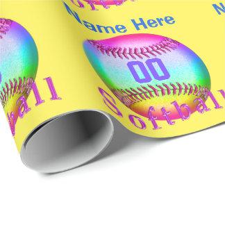 Papel de embalaje personalizado multicolor del papel de regalo