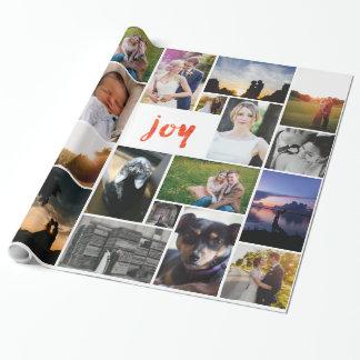 Papel de embalaje personalizado personalizado de papel de regalo
