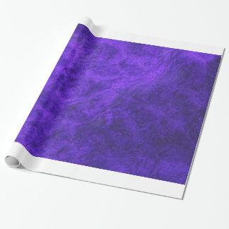 Papel de embalaje púrpura Amethyst del terciopelo Papel De Regalo