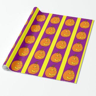 Papel de embalaje púrpura de la raya de la papel de regalo