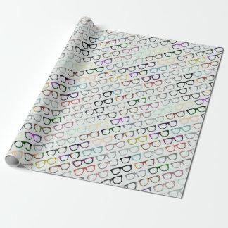 Papel de embalaje retro del inconformista de los papel de regalo