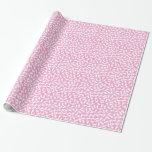 Papel de embalaje rosado de la fiesta de papel de regalo