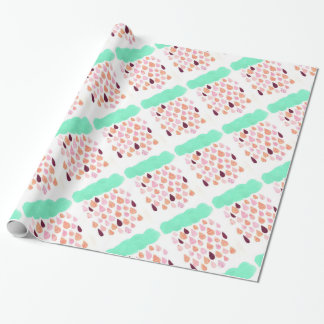 Papel de embalaje tranquilo de la lluvia papel de regalo
