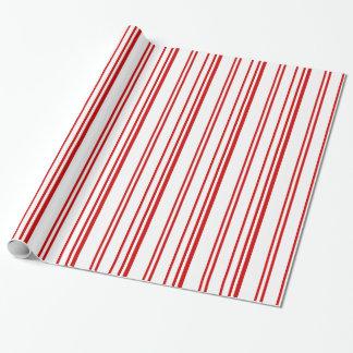Papel de embalaje variado de las rayas de la papel de regalo
