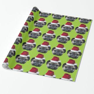 Papel de embalaje verde del barro amasado del papel de regalo