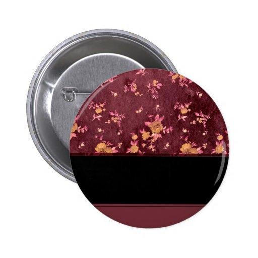 Papel de empapelar de Burdeos Pin Redondo 5 Cm