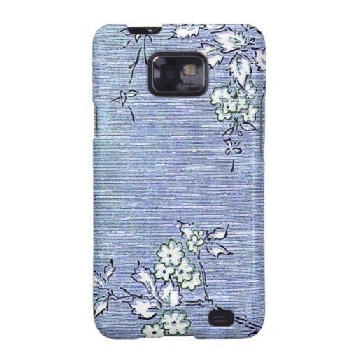 """Papel de empapelar del vintage de """"Suki"""" Samsung Galaxy SII Carcasas"""