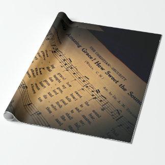 Papel de envoltorio para regalos asombroso de la papel de regalo