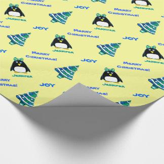 Papel de envoltorio para regalos conocido de papel de regalo