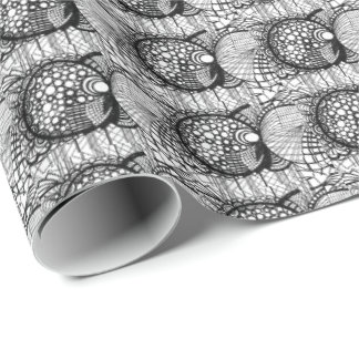 Papel de envoltorio para regalos del diseño de papel de regalo