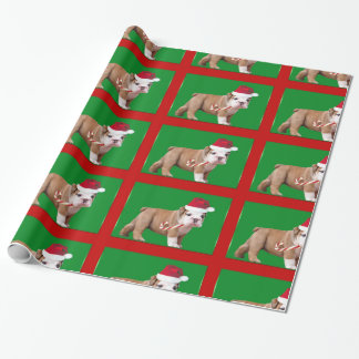 Papel de envoltorio para regalos del perrito del
