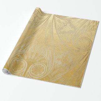 Papel de envoltorio para regalos egipcio del papel de regalo