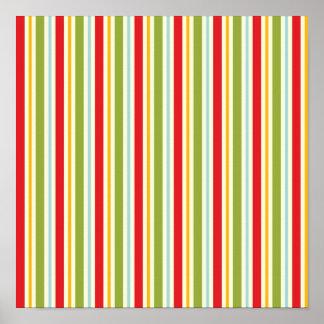 Papel de envoltorio para regalos festivo del ~ de póster