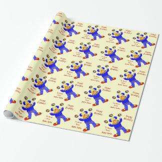 Papel de envoltorio para regalos personalizado papel de regalo
