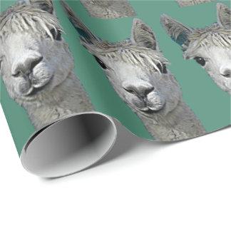 Papel de la alpaca papel de regalo