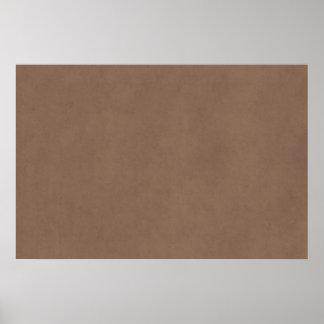 Papel de la antigüedad del pergamino de Brown del  Impresiones
