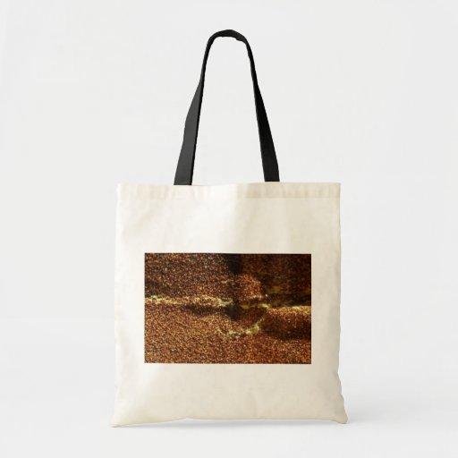 Papel de la arena bolsa de mano