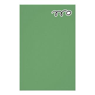 Papel de los efectos de escritorio de los tenis de papeleria personalizada