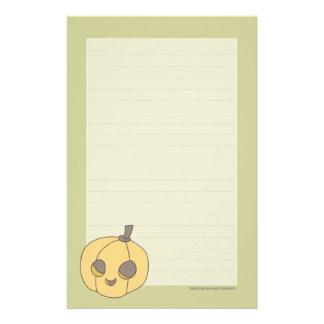 Papel de nota lindo de la calabaza el   Halloween Papeleria De Diseño