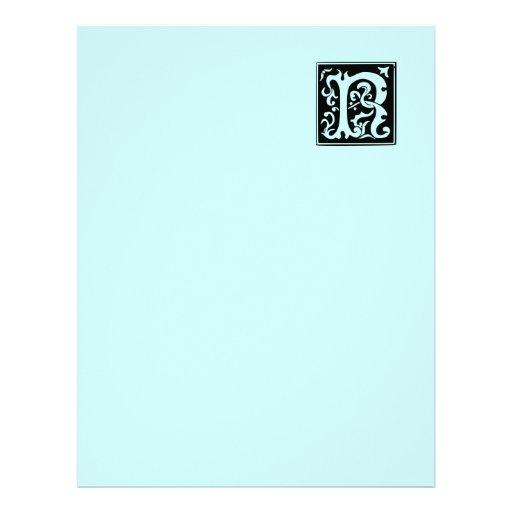 Papel de papel con membrete reciclado R viejo de l Membrete Personalizado