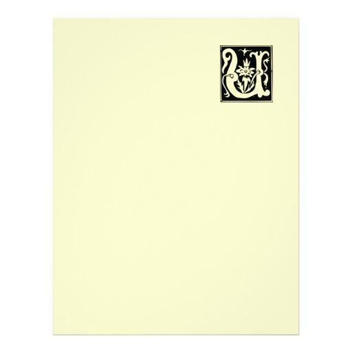 Papel de papel con membrete reciclado U viejo de l Plantillas De Membrete