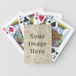 Papel de pergamino beige del moreno de Brown del y Baraja Cartas De Poker