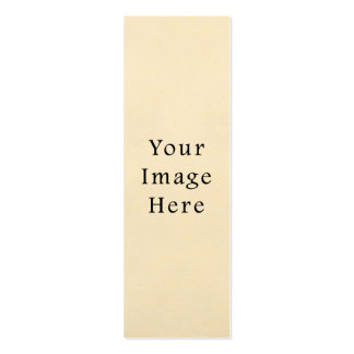 Papel de pergamino blanco beige poner crema del vi tarjetas de visita mini