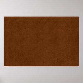 Papel de pergamino bronceado cuero de Brown del Impresiones