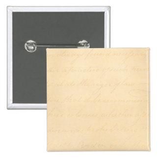 Papel de pergamino colonial de la escritura del pin