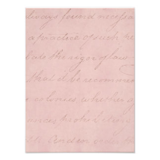 Papel de pergamino color de rosa colonial del fotografía
