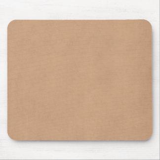 Papel de pergamino de cuero ligero del vintage de  tapete de raton
