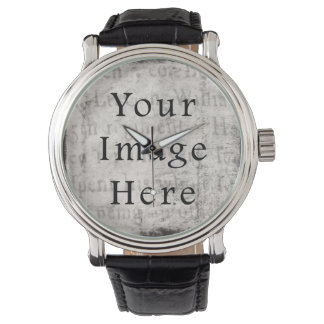 Papel de pergamino negro gris del texto de la relojes de mano