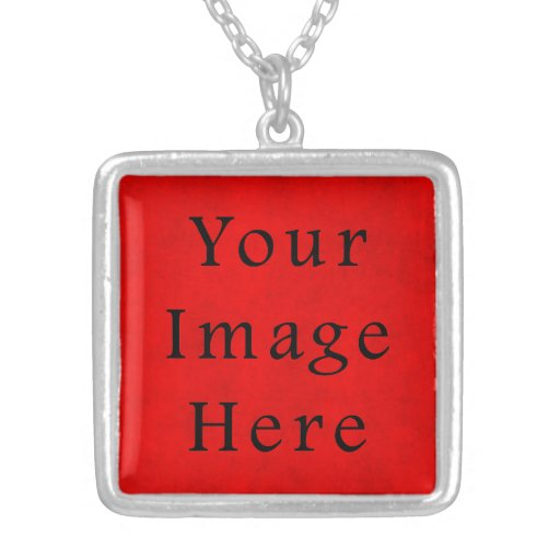 Papel de pergamino rojo del navidad del día de fie colgante cuadrado