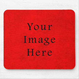 Papel de pergamino rojo del navidad del día de fie mouse pads