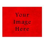 Papel de pergamino rojo del navidad del día de fie tarjetas postales